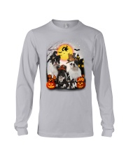 Zeus - French Bulldog Halloween - 2408 - A10 Long Sleeve Tee thumbnail