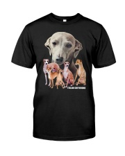 Italian Greyhound Awesome Family 0701 Classic T-Shirt front