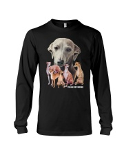 Italian Greyhound Awesome Family 0701 Long Sleeve Tee thumbnail
