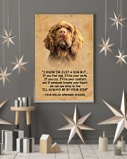 Sussex Spaniel I Know Im Just A Dog Poster 1401  11x17 Poster lifestyle-holiday-poster-1