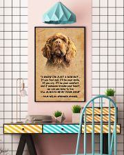 Sussex Spaniel I Know Im Just A Dog Poster 1401  11x17 Poster lifestyle-poster-6