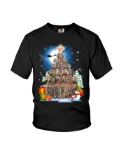 Weimaraner  Pine Tree 0310 Youth T-Shirt thumbnail