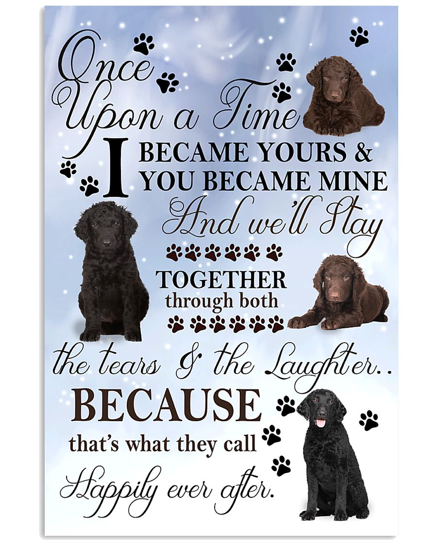 Curly-Coated Retriever I Became Yours 1001  11x17 Poster