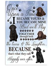Curly-Coated Retriever I Became Yours 1001  11x17 Poster front