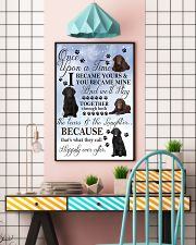 Curly-Coated Retriever I Became Yours 1001  11x17 Poster lifestyle-poster-6