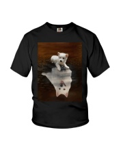 American Eskimo Dog Believe Youth T-Shirt thumbnail