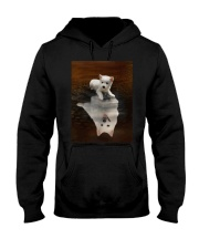 American Eskimo Dog Believe Hooded Sweatshirt thumbnail