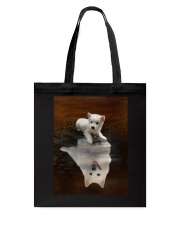 American Eskimo Dog Believe Tote Bag thumbnail