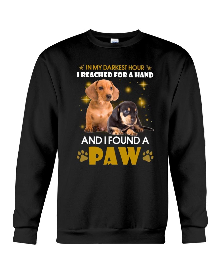Dachshund paw Crewneck Sweatshirt