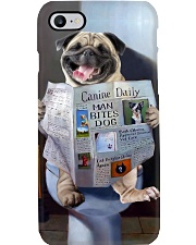 Pug Newspapers Poster 0501 Phone Case thumbnail