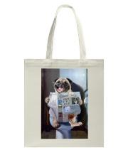 Pug Newspapers Poster 0501 Tote Bag thumbnail