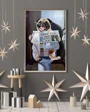 Pug Newspapers Poster 0501 11x17 Poster lifestyle-holiday-poster-1