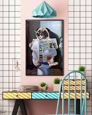 Pug Newspapers Poster 0501 11x17 Poster lifestyle-poster-6