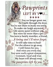 Wirehaired Pointing Griffon Pawprints Poster 2201 11x17 Poster front