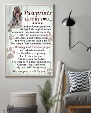 Wirehaired Pointing Griffon Pawprints Poster 2201 11x17 Poster lifestyle-poster-1