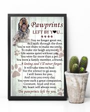 Wirehaired Pointing Griffon Pawprints Poster 2201 11x17 Poster lifestyle-poster-8