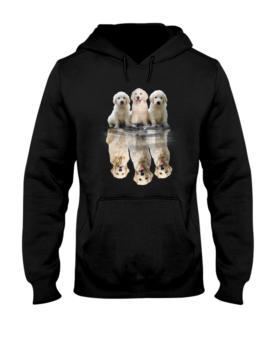 Golden Retriever Dreaming 0110 Hooded Sweatshirt