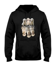 Golden Retriever Dreaming 0110 Hooded Sweatshirt front