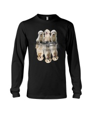 Golden Retriever Dreaming 0110 Long Sleeve Tee thumbnail