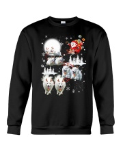 EROS American Eskimo Dog Reindeers Crewneck Sweatshirt thumbnail