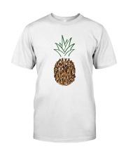 German Shepherd Pineapple Classic T-Shirt front
