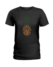 German Shepherd Pineapple Ladies T-Shirt thumbnail
