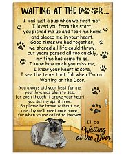 Anatolian-Shepherd Waiting At The Door Poster 2201 11x17 Poster front