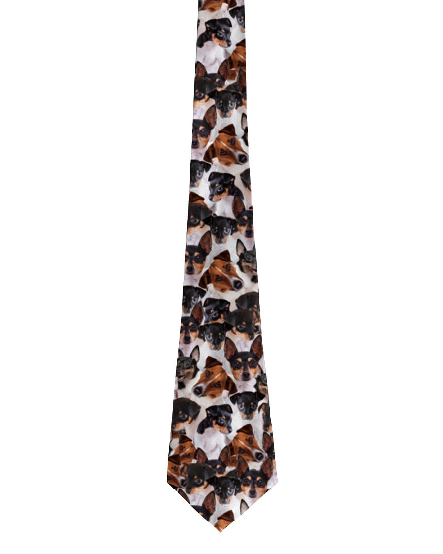 Toy Fox Terrier Awesome Tie Tie