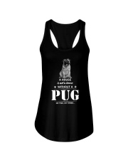 GAEA - Pug Home - 2610 - 87 Ladies Flowy Tank thumbnail