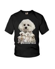 Bichon Frise Awesome Family 0501 Youth T-Shirt thumbnail