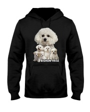 Bichon Frise Awesome Family 0501 Hooded Sweatshirt thumbnail
