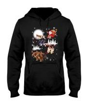 Cavalier King Charles Spaniel Reindeers 1909 Hooded Sweatshirt thumbnail