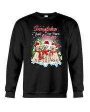 Labrador Retriever Snowflakes Are Kisses 0510 Crewneck Sweatshirt front