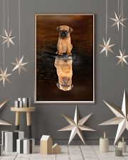 Griffon Bruxellois Believe 11x17 Poster lifestyle-holiday-poster-1