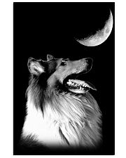 Collie Look Moon 11x17 Poster front