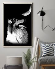 Collie Look Moon 11x17 Poster lifestyle-poster-1