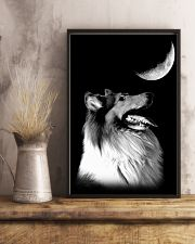 Collie Look Moon 11x17 Poster lifestyle-poster-3