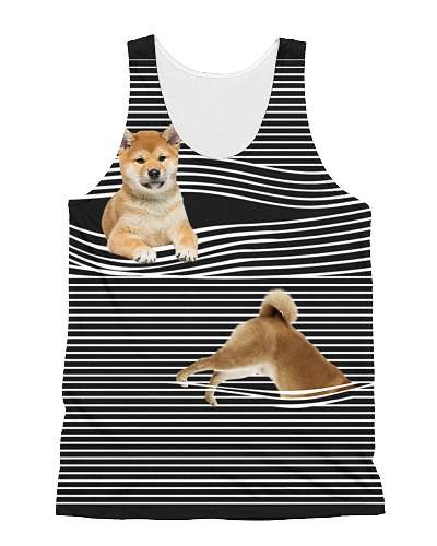 Shiba Inu Striped