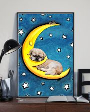 Shih Tzu Sleeping Moon Poster 2201 11x17 Poster lifestyle-poster-2