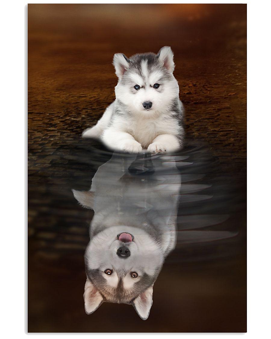 Siberian Husky Believe 11x17 Poster