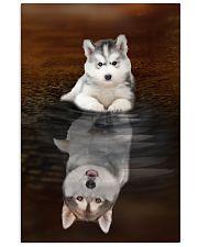 Siberian Husky Believe 11x17 Poster front