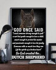 Dutch Shepherd God Once Said Poster 2901  11x17 Poster lifestyle-poster-2