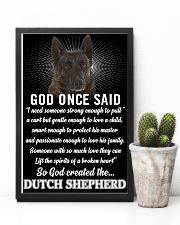 Dutch Shepherd God Once Said Poster 2901  11x17 Poster lifestyle-poster-8