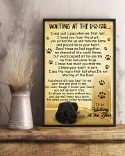 Bouvier des Flandres Waiting at The Door 11x17 Poster lifestyle-poster-3