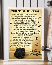 Bouvier des Flandres Waiting at The Door 11x17 Poster lifestyle-poster-4