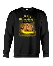Happy Halloweiner Crewneck Sweatshirt front