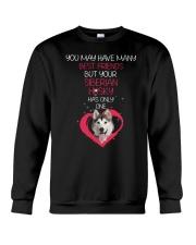 Siberian Husky Has One 2206 Crewneck Sweatshirt thumbnail