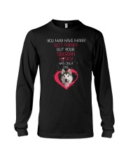Siberian Husky Has One 2206 Long Sleeve Tee thumbnail