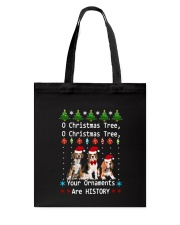 O Christmas Tree Beagle Tote Bag thumbnail