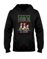 O Christmas Tree Beagle Hooded Sweatshirt thumbnail